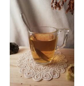 tasse Tisane Chaleureuse : Thym, bruyère, bourrache et bouillon blanc bio